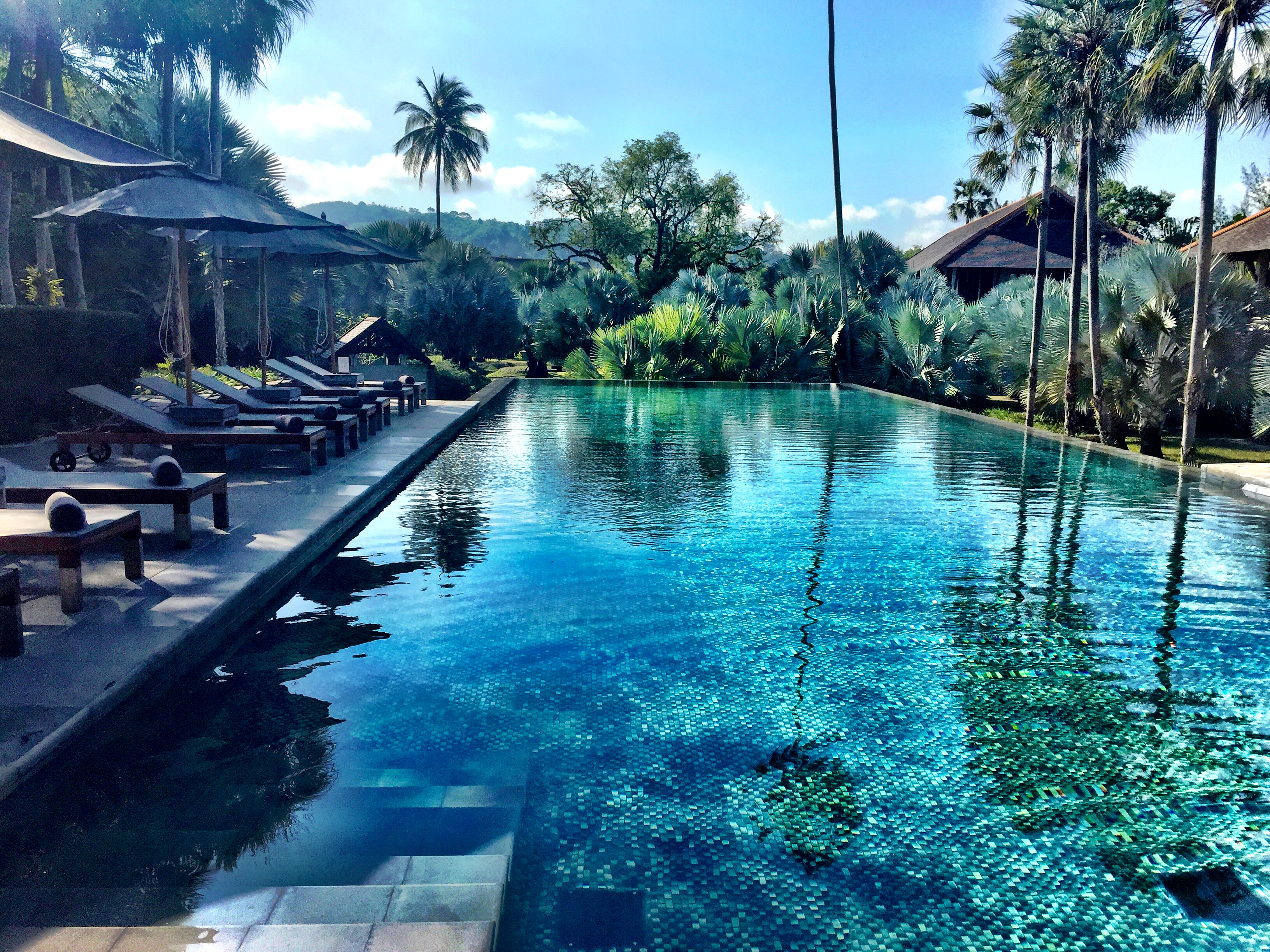 the slate resort is located in the northern part of phuket about 10 minutes from the airport its a beautiful boutique hotel thats a perfect place if you