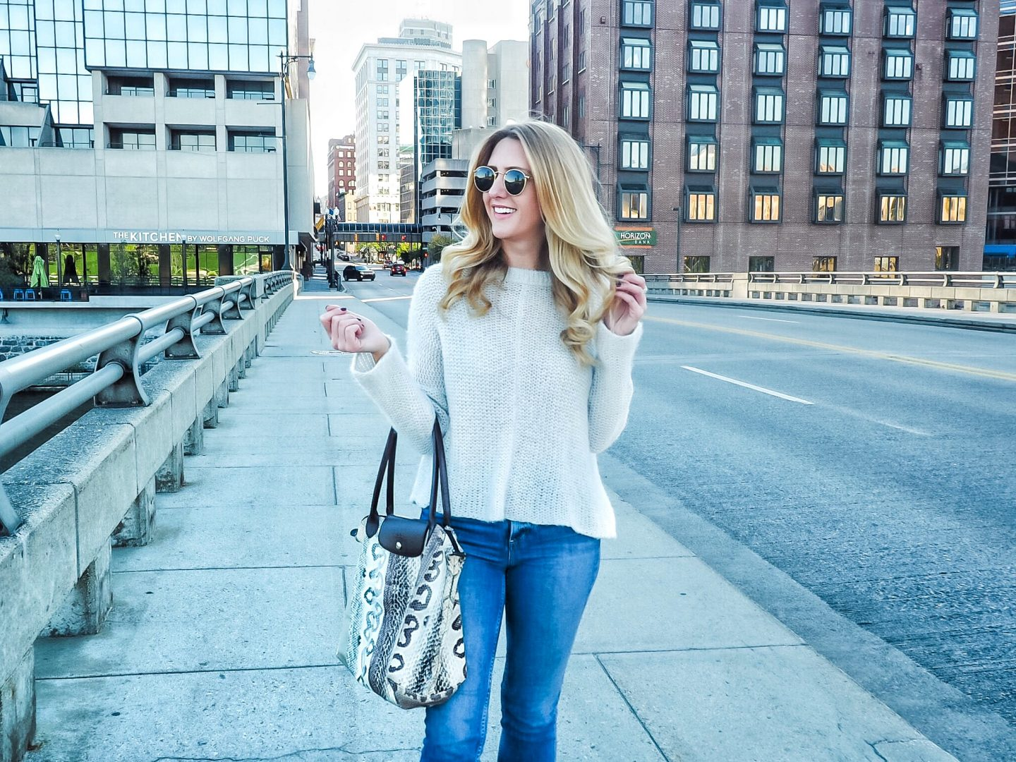 The Perfect Knit Sweater for a Weekend in Grand Rapids